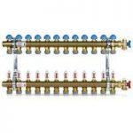 Polypipe 15mm push-fit manifold – 12 port