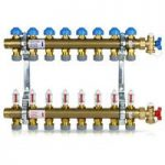 Polypipe 15mm push-fit manifold – 9 port
