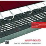 WarmBoard 18mm Low Profile Overlay Packs – 20m2