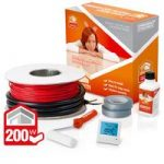 ProWarm 200w Electric Underfloor Heating cable kit – 6.2m2