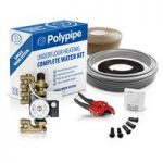 Polypipe standard output single zone water underfloor heating kit – 50m2