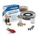 Polypipe High Output Water Underfloor Heating Kit Covering 25m2