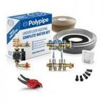 Polypipe High Output Water Underfloor Heating Kit Covering 40m2