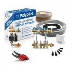 Polypipe High Output Water Underfloor Heating Kit Covering 50m2