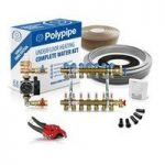 Polypipe High Output Water Underfloor Heating Kit Covering 70m2