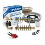 Polypipe High Output Water Underfloor Heating Kit Covering 80m2