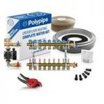 Polypipe High Output Water Underfloor Heating Kit Covering 90m2