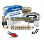 Polypipe High Output Water Underfloor Heating Kit Covering 100m2