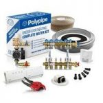 Polypipe Multiple Room Water Underfloor Heating System – 60m2 – 3 zones