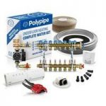 Polypipe Multiple Room Water Underfloor Heating System – 80m2 – 4 zones