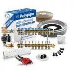 Polypipe Multiple Room Water Underfloor Heating System – 100m2 – 5 zones