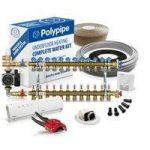 Polypipe Multiple Room Water Underfloor Heating System – 120m2 – 6 zones